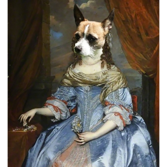 womandog